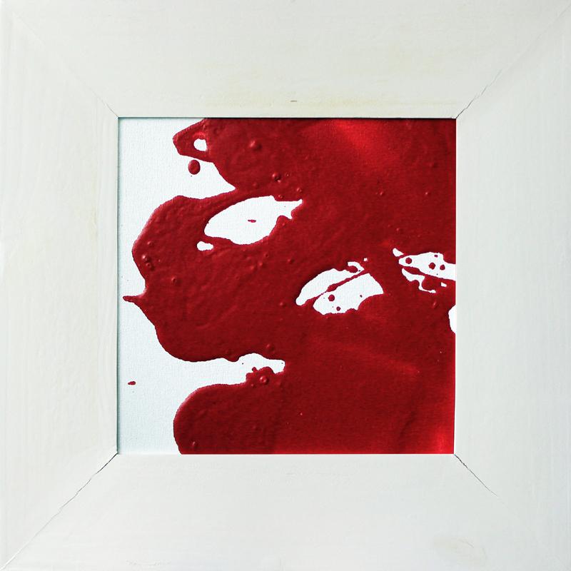 Rot und Weiß, Acryl, 2013