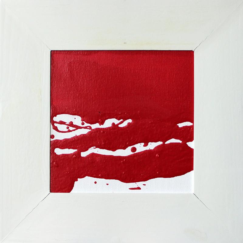 Rot und Weiß 02/03, Acryl, 2013