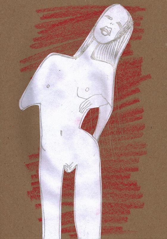 Kunstbuch (Mädchen), Seite 1, 2013