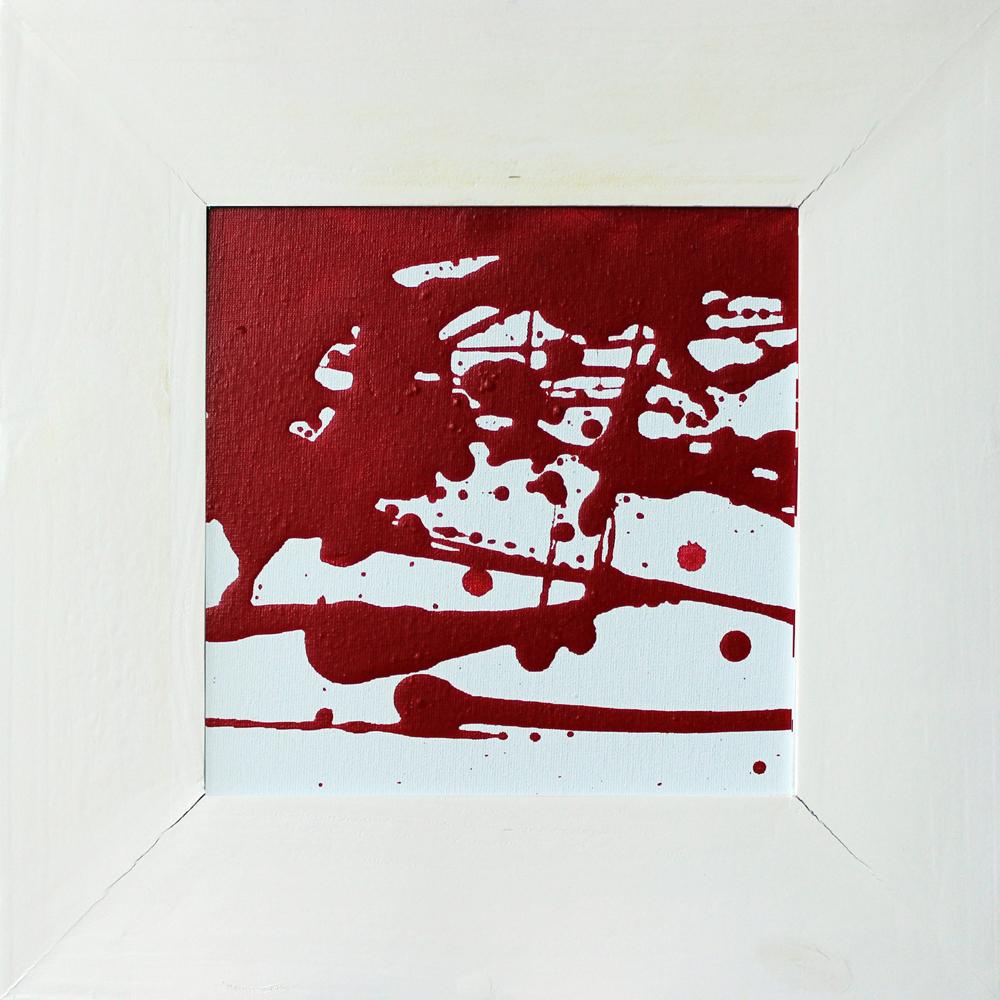 Rot und Weiß (02-05), Acryl, 2013