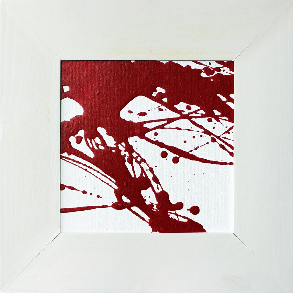 Rot und Weiß (03-05), Acryl, 2013