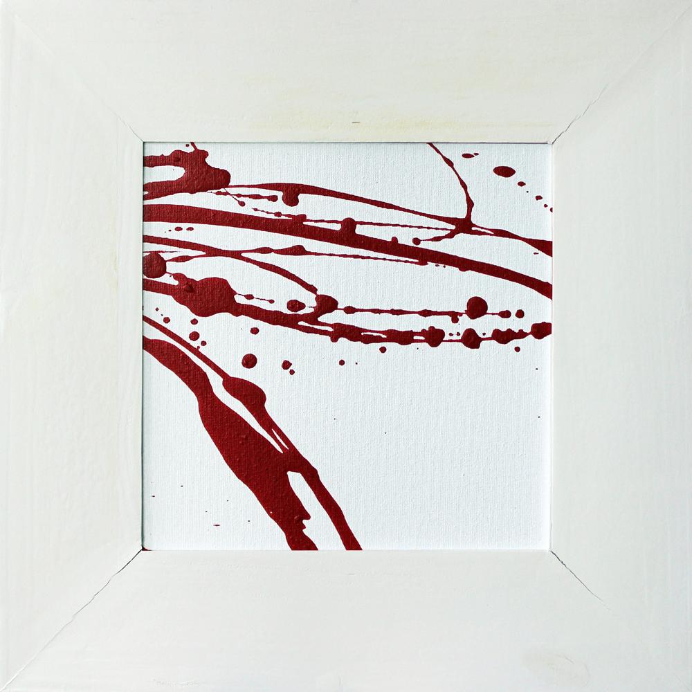 Rot und Weiß (05-05), Acryl, 2013