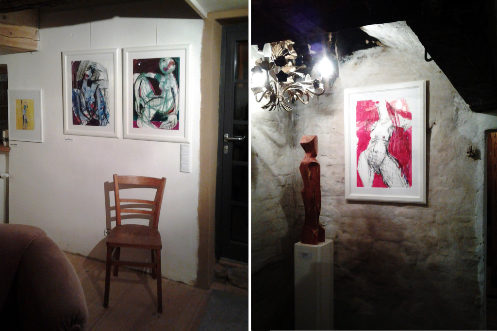 Akt, 42 x 60 cm, Mixed media, Oxana Mahnac, 2011