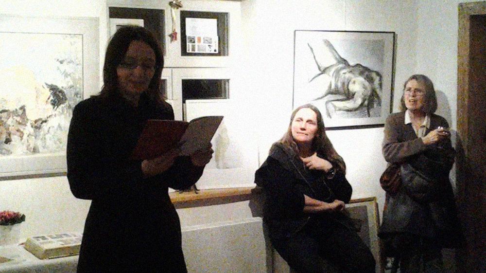Präsentation des Lyrikbandes von Daniela Lindeman, Illustriert von Oxana Mahnac