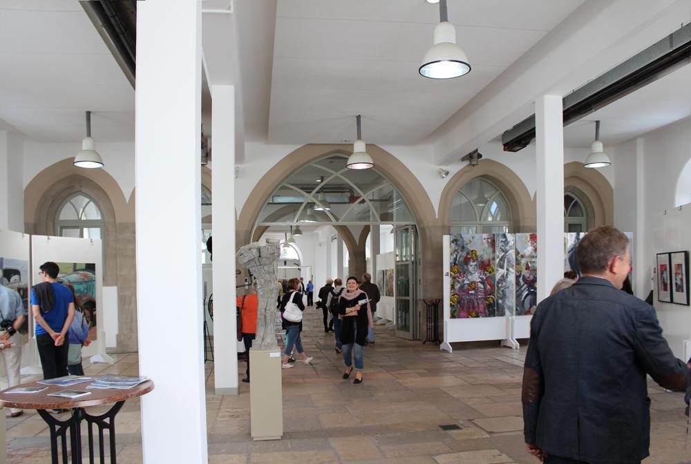 KunstSchranne, Wettbewerbs-Ausstellung, Weißenburg, 2014