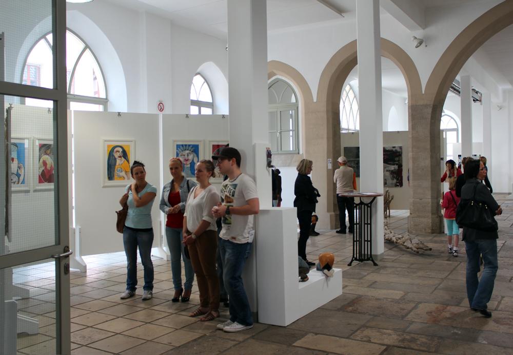 KunstSchranne, Wettbewerbs-Ausstellung, Oxana Mahnac, Weißenburg, 2014