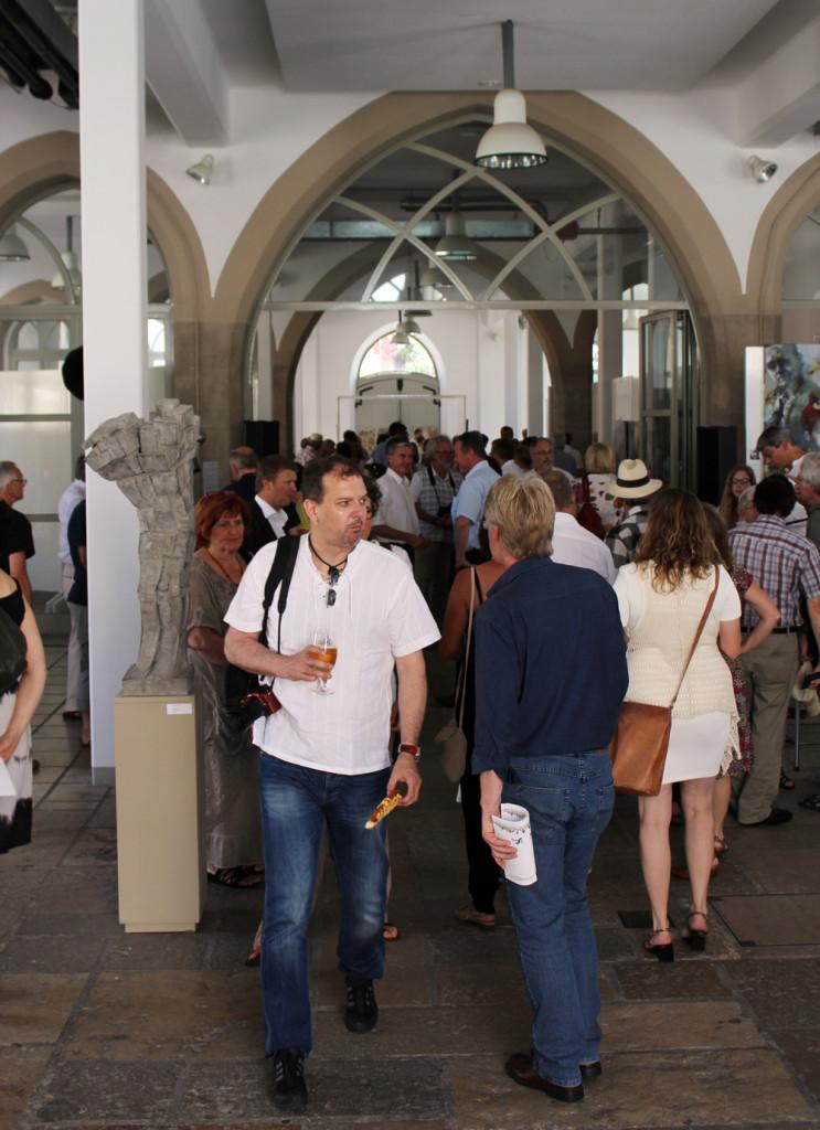 Finissage, Kunstausstellung, Weißenburg, 2014