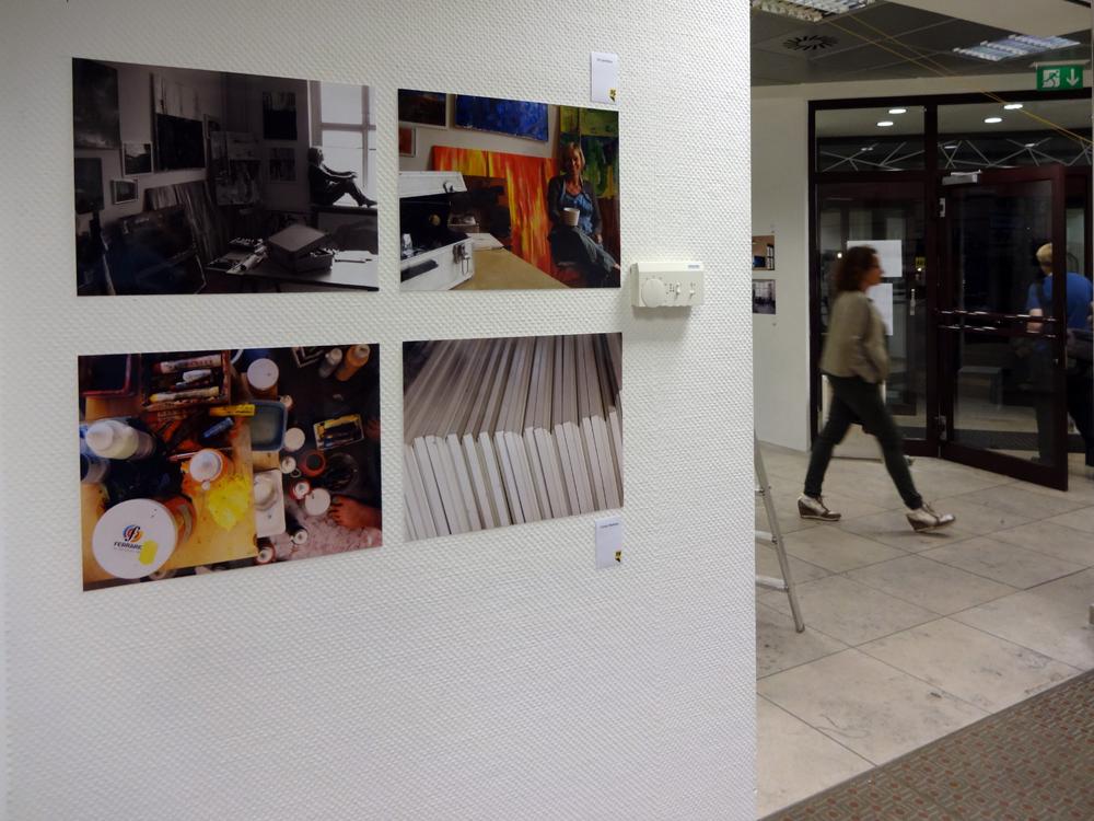 """Fotoausstellung """"Künstleratelier"""""""
