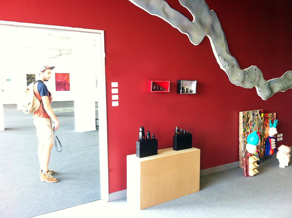 Objektkunst, ZENTRALSTATION, Berlin-Schöneweide, Vernissage, 10.Juli 2014