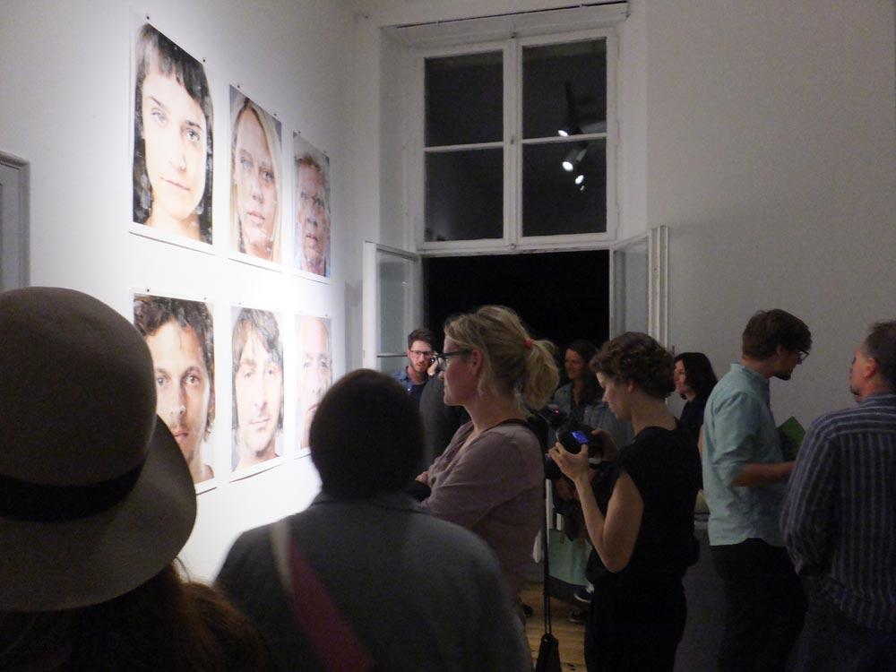 Analog Mensch Digital—Design an der Schnittstelle, Eröffnung, 5. September 2014