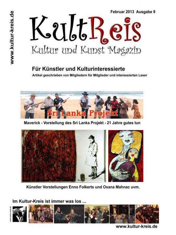 KultReis, Ausgabe 9, 2013