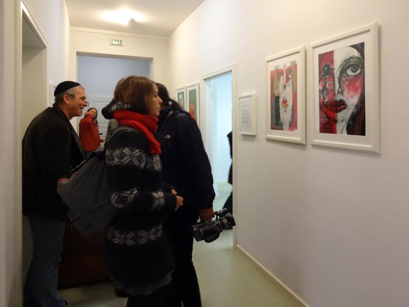 Oxana Mahnac, Zeichnungen, Malerei, Installation, Objektkunst, 08 November 2014