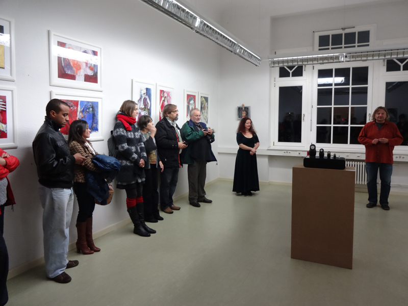 Oxana Mahnac, Soloausstellung,Vernissage, 08 November 2014