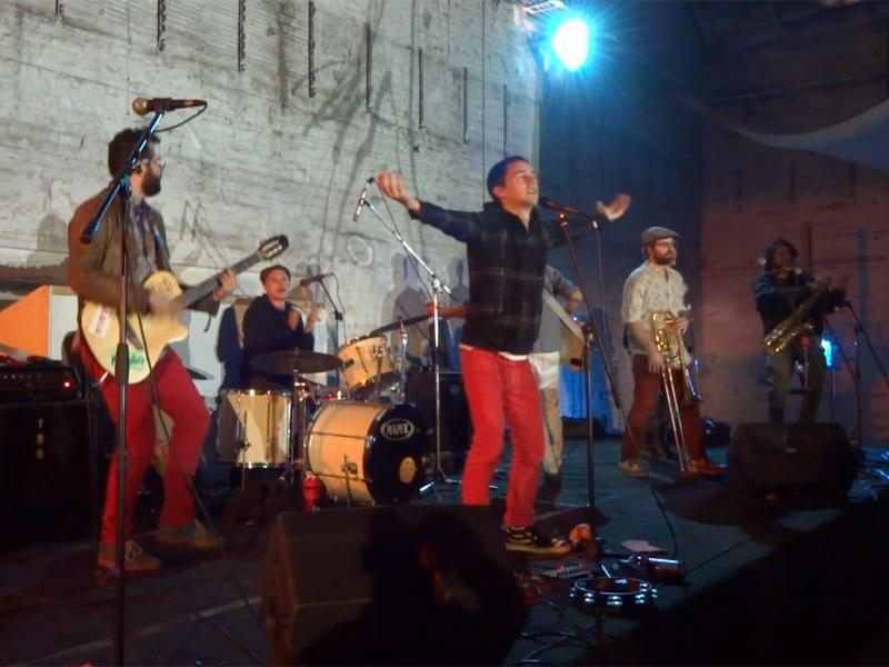 New Yorker Band KARIKATURA