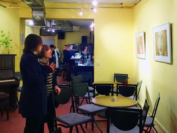 EWA Frauenzentrum, Ausstellungseröffnung, 08. Januar 2015