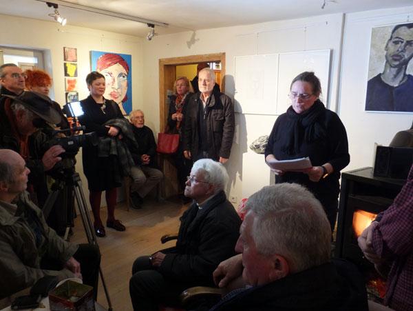 Gruppenausstellug im Mattauschhaus, Portrait, Teltow