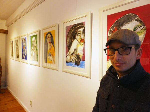 """Michael Böhnke, Inhaber der Galerie """"Wunschkind"""""""