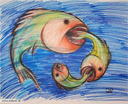 Buntstifte-fische