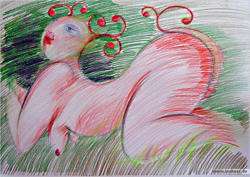Fruehling-Zeichnung