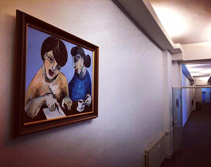 Kunst im Büro - einzigartiges Ambiente