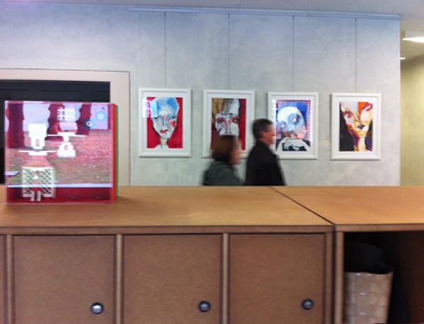 Soloausstellung in der Mittelpunktbibliothek Berlin-Köpenick