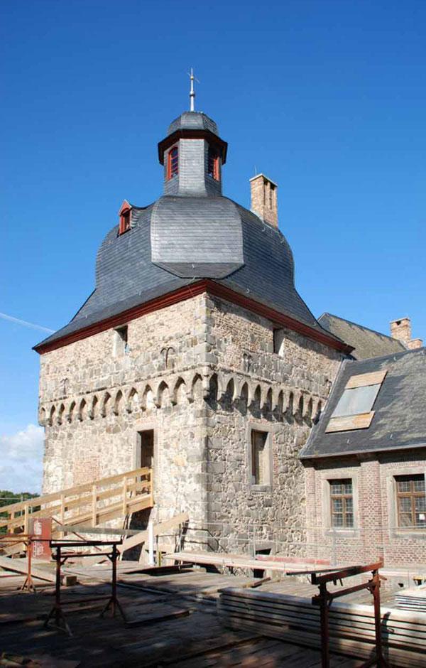 Schloss Liedberg - der Turm