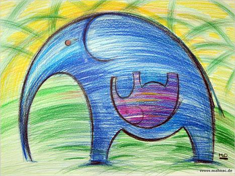 Stifte-elefant