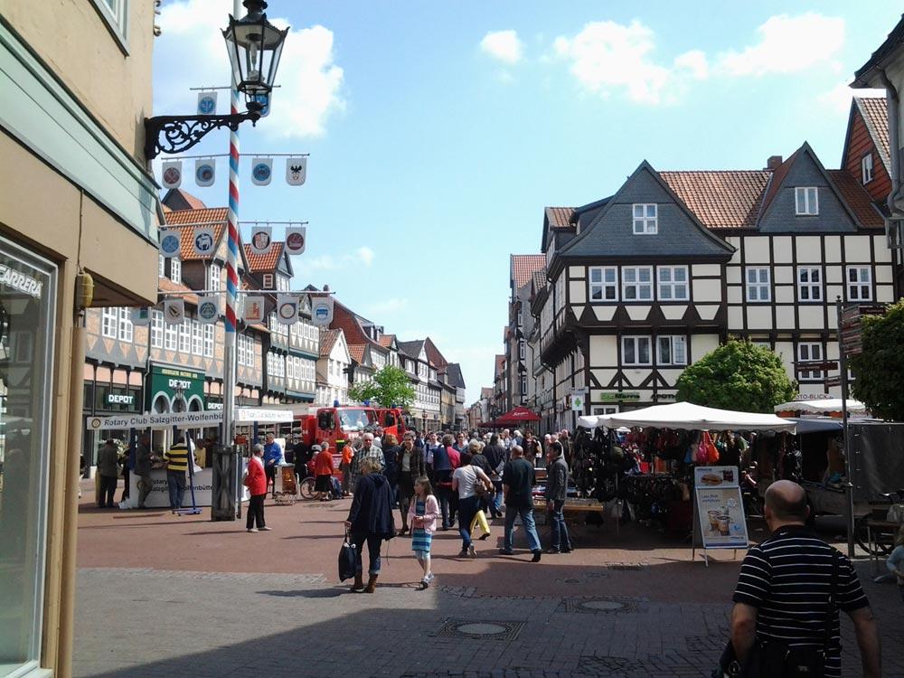 Wolfenbüttel, Altstadt