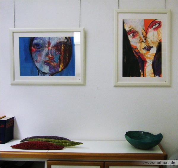 Oxana Mahnac, Turmgalerie, Kunststrasse, Imst, 2011