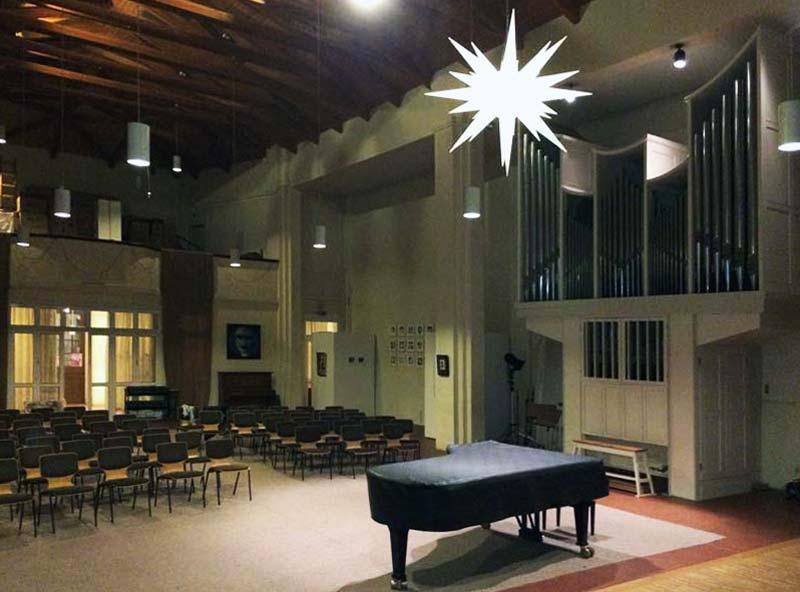 Nikodemus-Kirche, Belrin-Neukölln (ein Tag vor der Vernisssage)