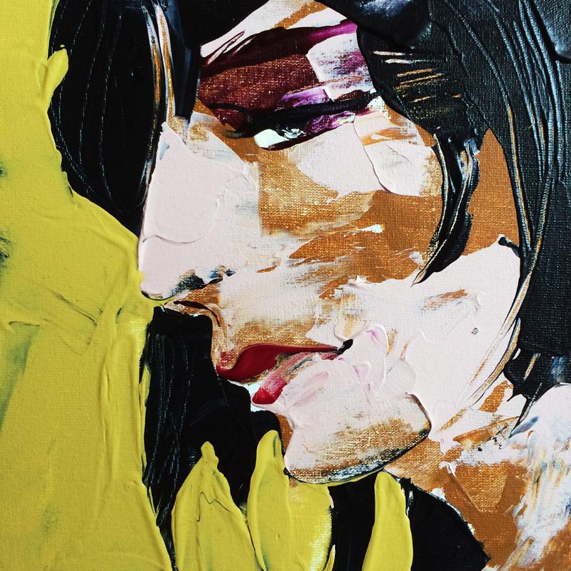 Dein Selbst, (#0025), 20 x 20 cm, Acryl auf der HDF-Malplatte, 2016