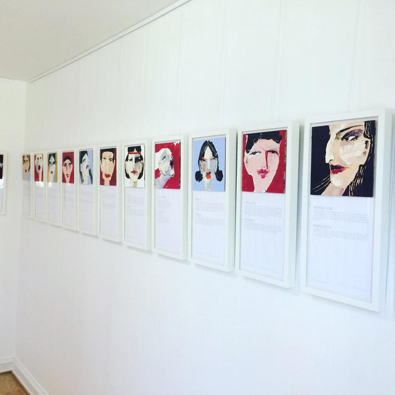 1.000 Geschichten in 1.000 Bildern, Kunstprojekt, 2015 - bis Heute, Oxana Mahnac