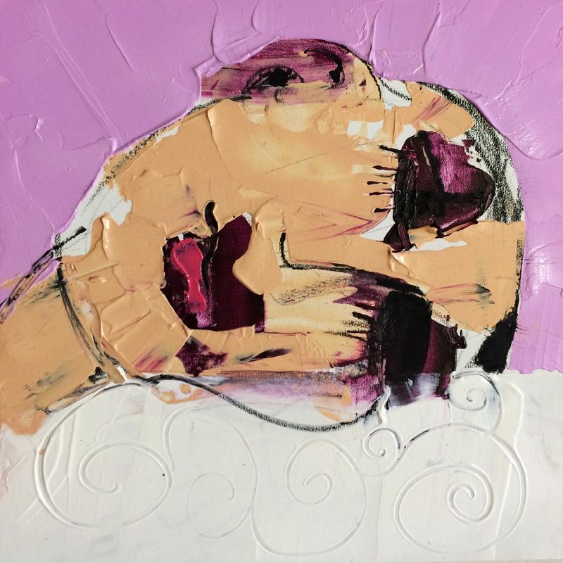 Traum, (#0054), 20 x 20 cm, Acryl auf der HDF-Malplatte, 2016