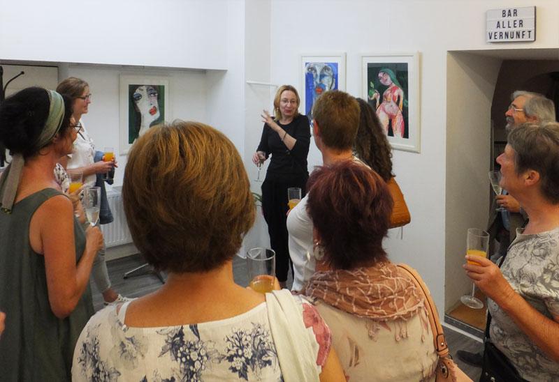Solo-Ausstellung von Oxana Mahnac in Österreich