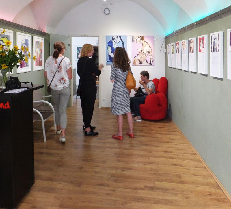 1.000 Stories, Solo-Ausstellung von Oxana Mahnac in Austria