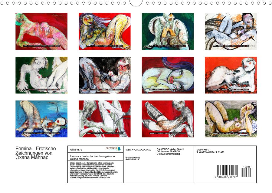 Index, Erotische Zeichnungen von Oxana Mahnac