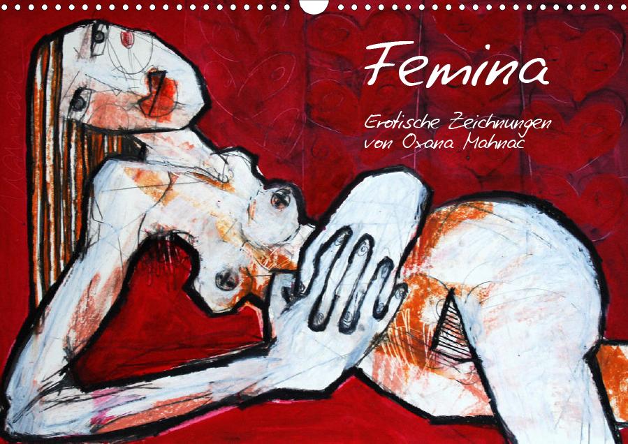 Erotische Zeichnungen von Oxana Mahnac