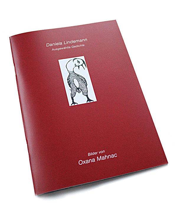 Lyrikband mit Illustration von Oxana Mahnac
