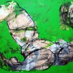 For Henry Miller (02), Öl auf Leinwand, 60 x 80 cm, Oxana Mahnac, 2011