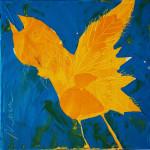 Liebeslied (01), Acryl auf Leinwand, 30 x 30 cm, Oxana Mahnac, 2012