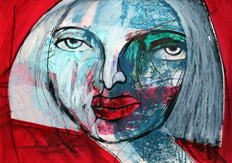 Portrait-Frau-Mahnac