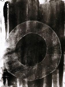 Abstrakte Monotypie (03), Oxana Mahnac, 2014