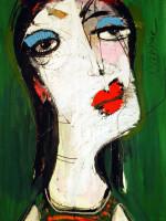 Picasso-Frau