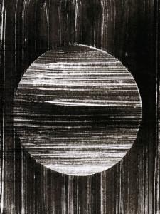 Sphäre, Abstrakte Monotypie (04), Oxana Mahnac, 2014