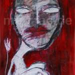 Dark Queen, Mixed Media, 60 x 42 cm, 2013