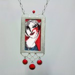 Silberanhänger, 02, Ⓒ Silke Prottung, Bild von Oxana Mahnac