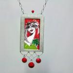 Silberanhänger, 11, Ⓒ Silke Prottung, Bild von Oxana Mahnac