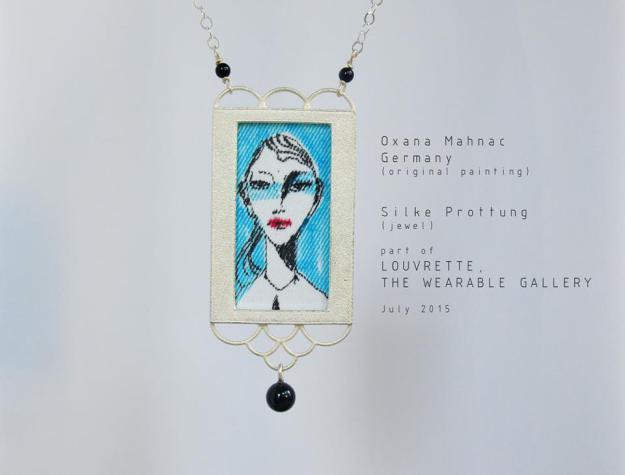 Silberanhänger, 04, Ⓒ Silke Prottung, Bild von Oxana Mahnac